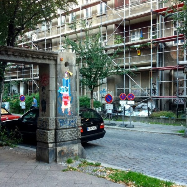 <h2>Kunde / Ort</h2> <br> Friedrichshain/Kreuzberg - öffentlicher Auftraggeber <br><br>  <h2>Ausführung / Material </h2> <br>  Restaurierung der Schmucktore in der Knorrpromenade in Friedrichshain, vor und nach der Restaurierung