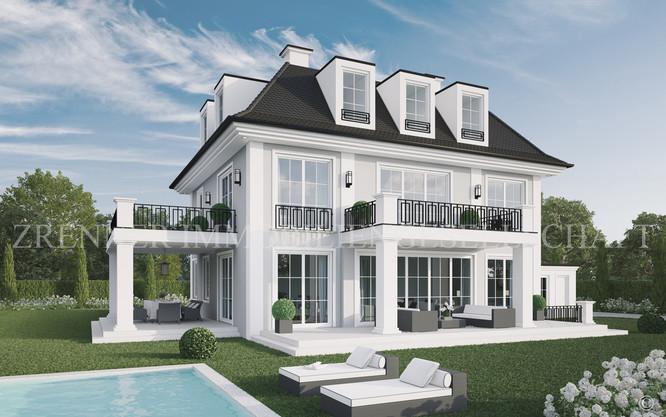 Klassische Villa Neubau g7 - palais graf seyssel - the new classic - bestlage münchen
