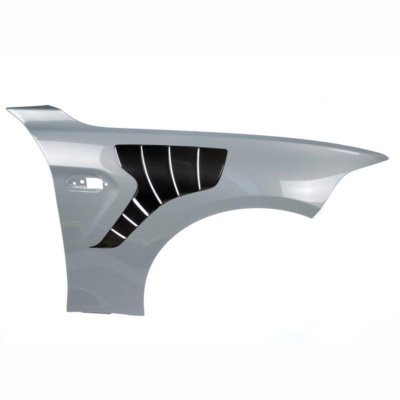 Carbon Kotflügel mit Entlüftung BMW M2 / M2 Competition , Carbon Fender with Vents