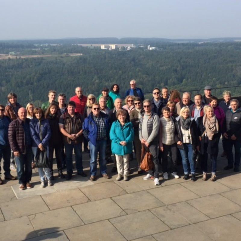 Besuch Festung Königstein 2017