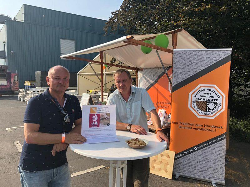 Fries Sommerfest 1. Berliner Bodenlegermeisterschaft