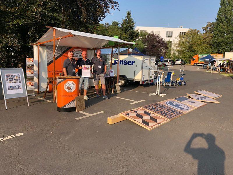 Fries 1. Berliner Bodenlegermeisterschaft