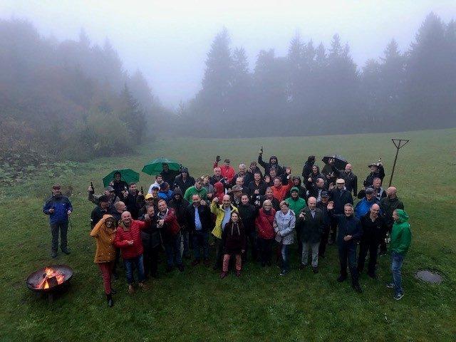 Wanderung Thüringer Wald 2019 Suhl