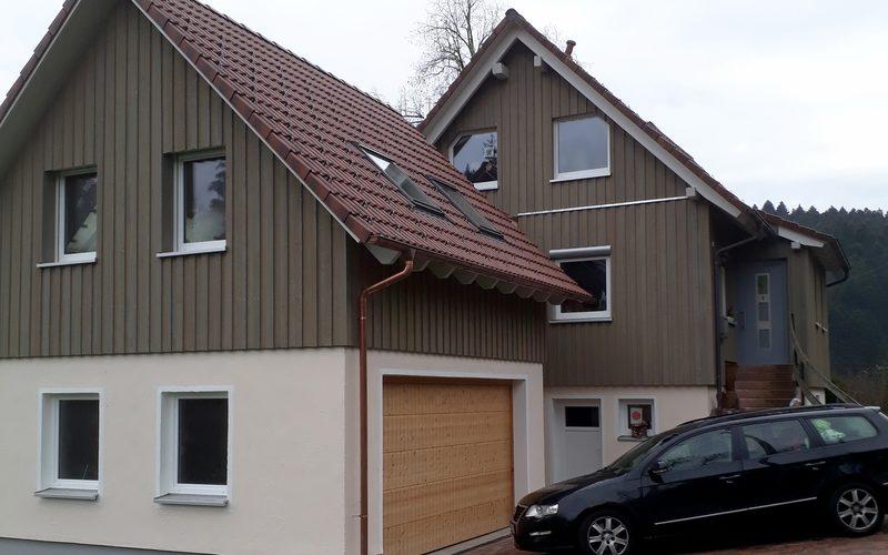Anbau Holzhaus Lossburg