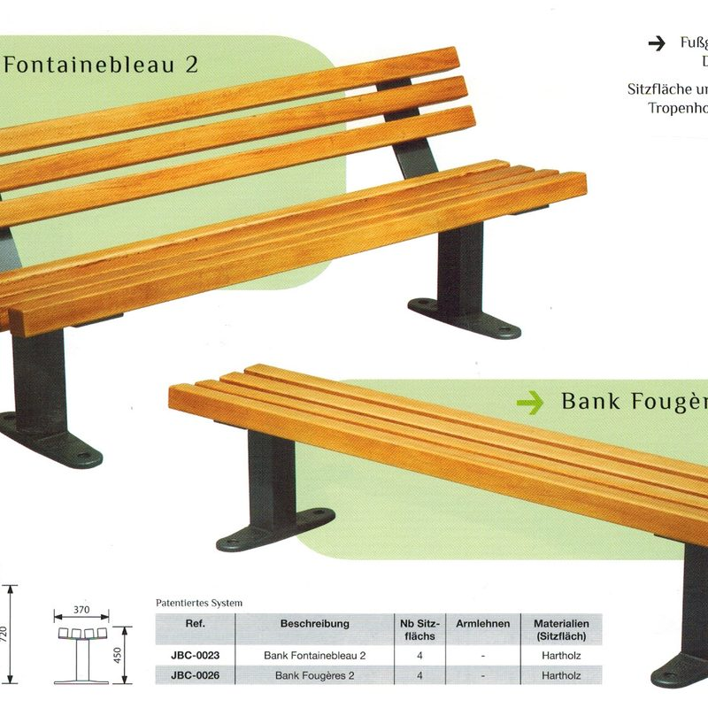 Bank FONTAINEBLEAU 2 und FORGERES 2, AB-JBC-0025/22 + AB-JBC-0027/28