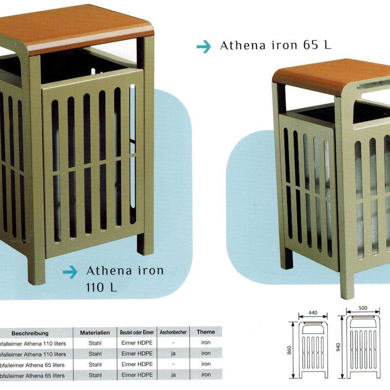 Papierkorb ATHENA IRON, AB-JAN-0047 - AB-JAN-0050