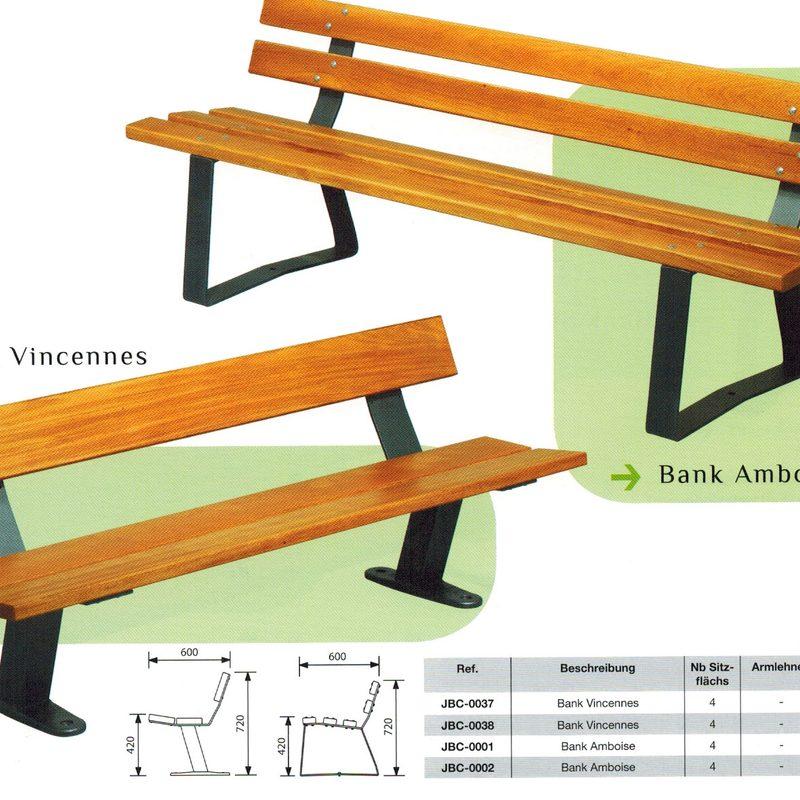 Bank AMBOISE und VINCENNES, AB-JBC-0037/38 + AB-JBC-0001/02