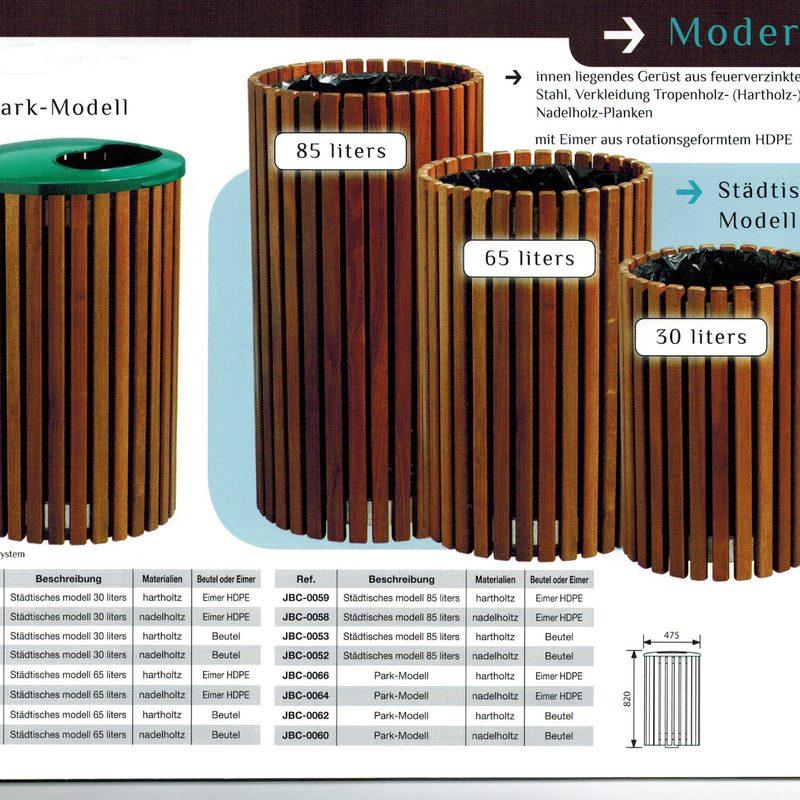 Papierkorb MODERN, AB-JBC-0048 - AB-JBC-0066