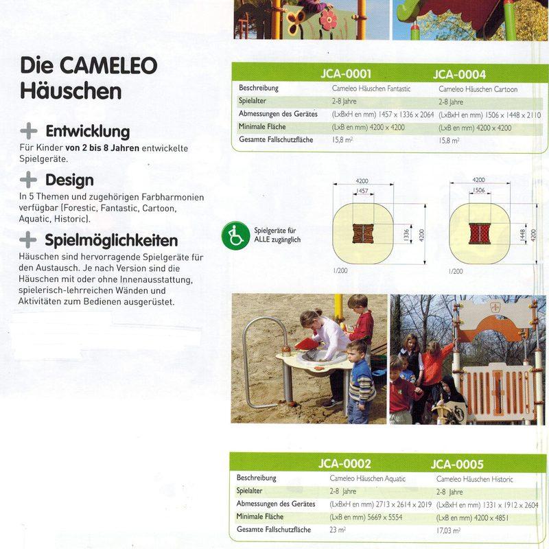 AB-CAMELEO Häuschen