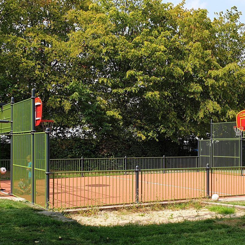 Multisportfeld Bielefeld, GS Stieghorst, Juli 2019