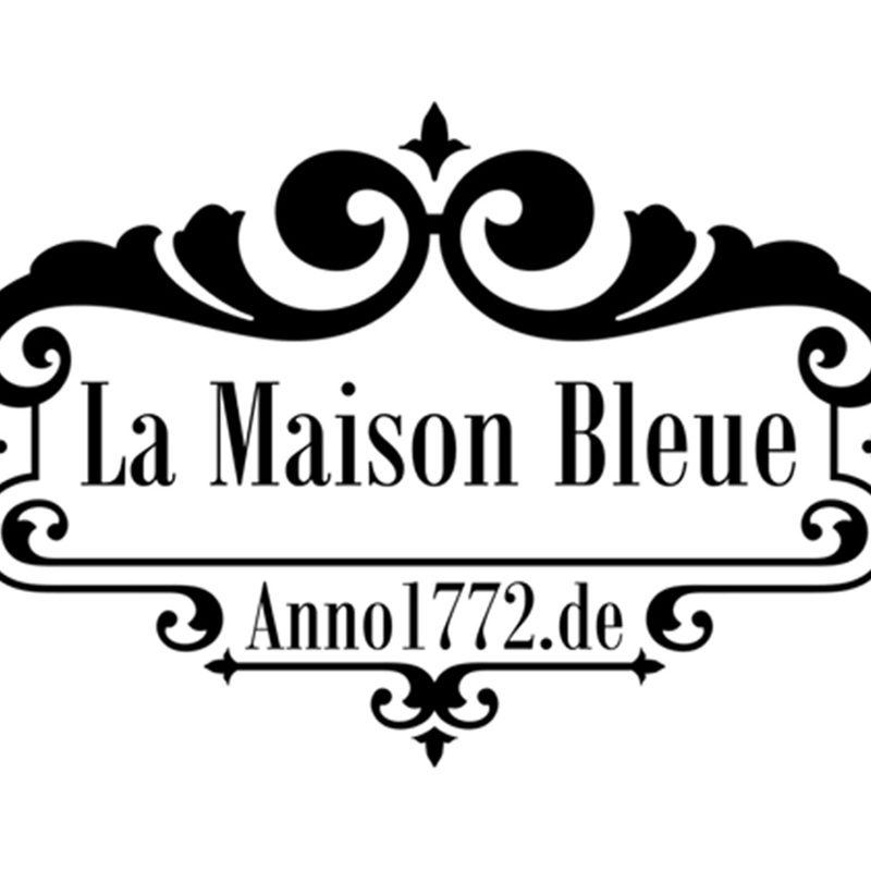 anno1772.de – La Maison Bleue | Website mit Hotelbuchung (WordPress), Logo, Fotoshootings