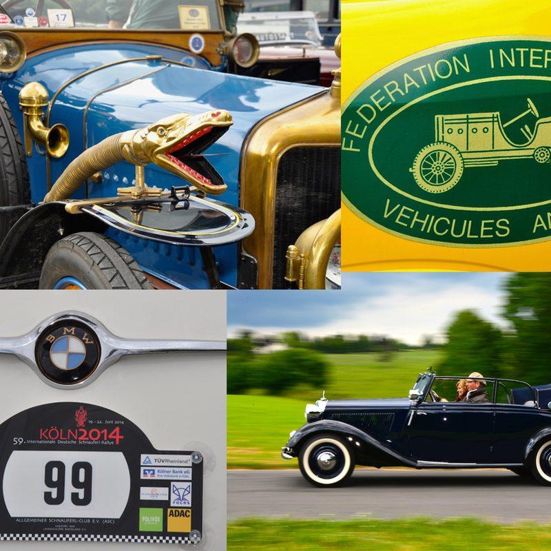 Autostadt | Special Interest Websites (Oldtimer-Ralleys, Messen) mit QR-Code Maßnahmen. Fotoshootings