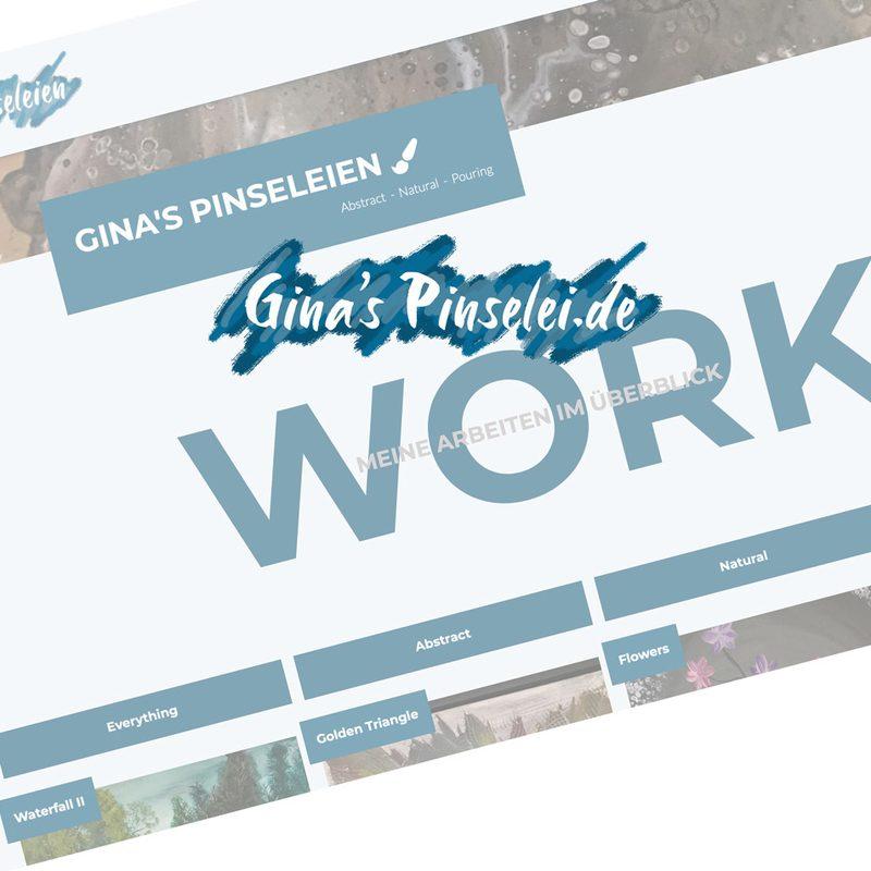 Gina's-Pinselei | Referenz für Künstlerportfolio | www.ginas-pinselei.de