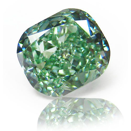 Diamond Fancy Vivid Green 0.97 carat