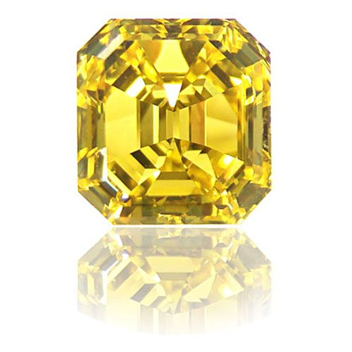 Diamond Fancy Vivid Yellow 2.13 carat