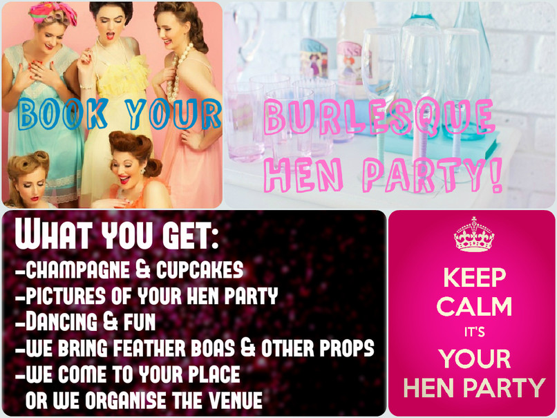 Burlesque Hen Parties in Luxemburg City