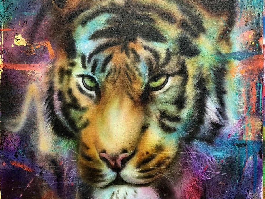 Tiger 50x60