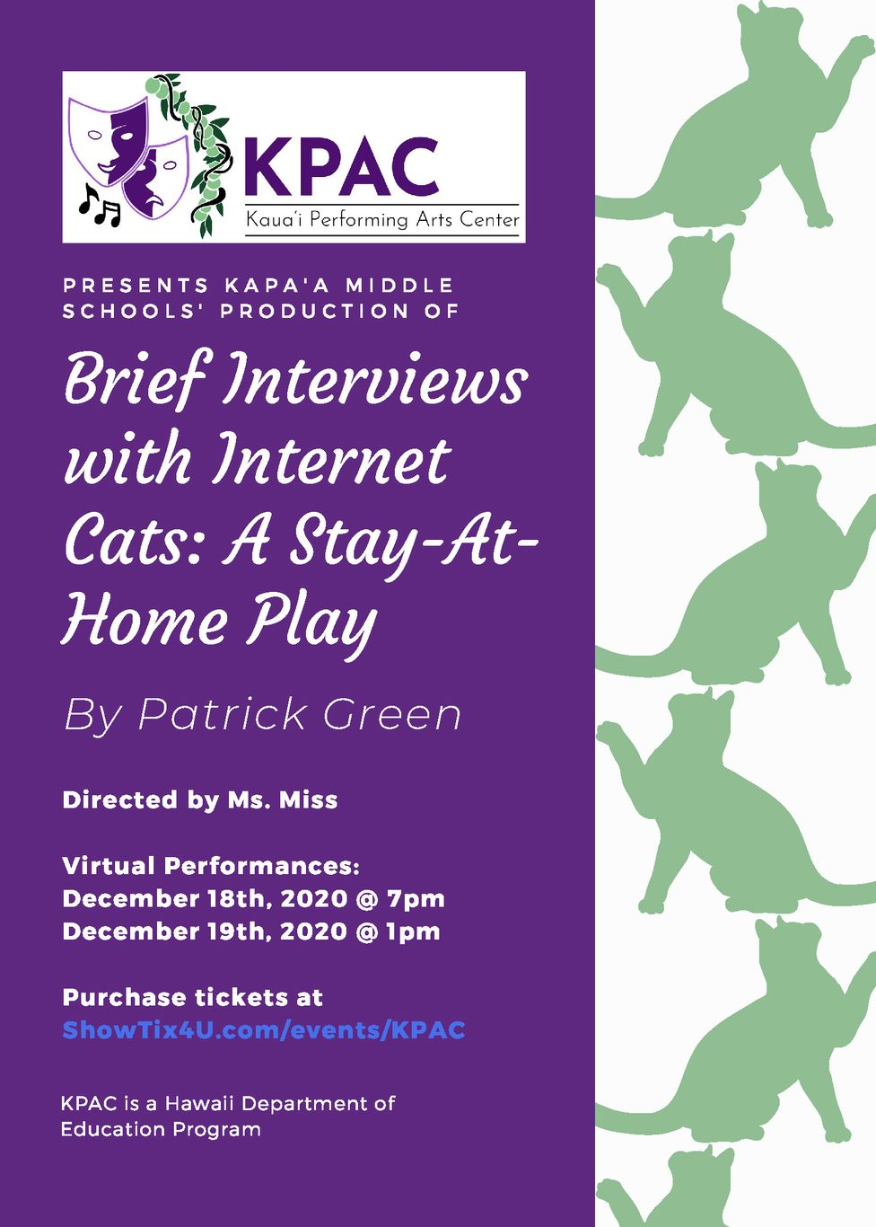 KPAC Play Poster
