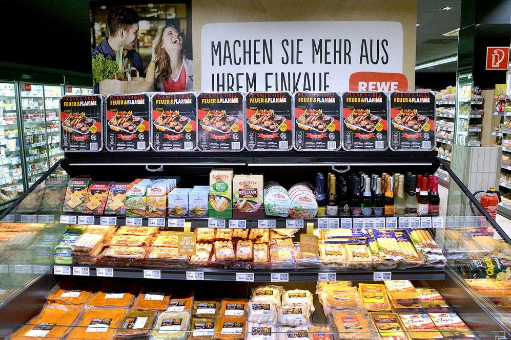 Getränkeabteilung in Bernhausen